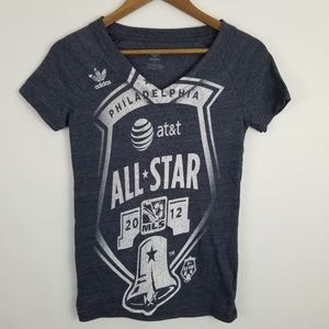 🐧Adidas All Star 2012 MLS Philadelphia T-Shirt